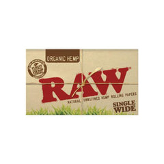 Raw Organic Hemp - Single Wide Double Window