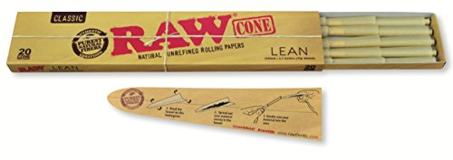 RAW Pre-Rolled Cones Classic King Size LEAN 20/pack
