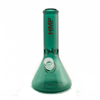"HMP Premier Color Collection - 8"" Teal Glass Waterpipe"