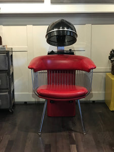 belvedere salon chairs. Retro First Lady By Belvedere Salon Hair Dryer Chair. It Works! Chairs