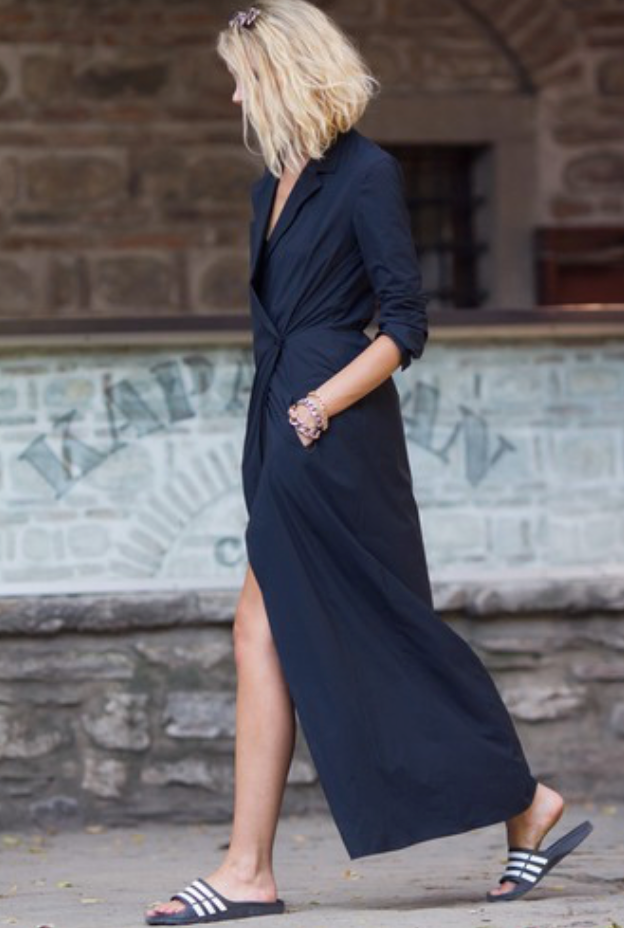 Black Shirt dress - Modern Choices