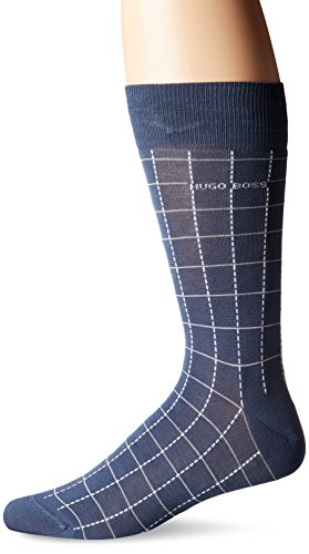HUGO BOSS Men's Rs Design Us, Navy 414, Sock Size: 10-13/Shoe Size:9-11 - Modern Choices