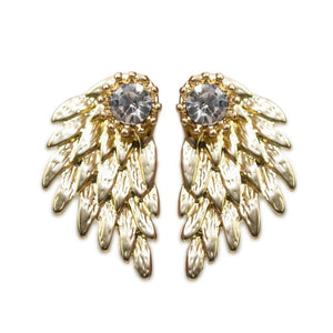 Mega Earrings-Gold