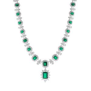 Emerald Statement Necklace - Modern Choices