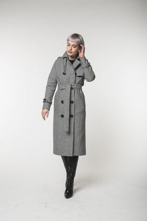 Camel trench coat / Spring - autumn / Women's coat / Collection 2018 by REVALU - Modern Choices