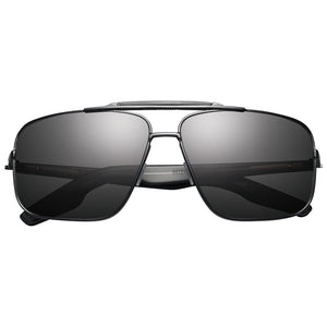 Custer: Matte Black / Grey Lens - Modern Choices