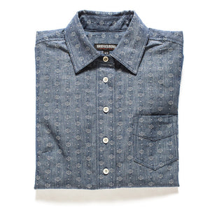 Japanese Denim Dot Popover - Modern Choices