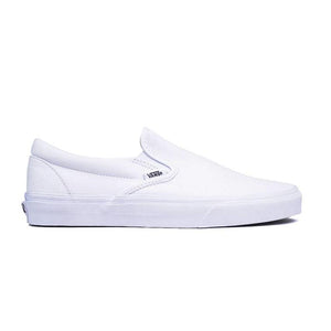 VANS - SLIP-ON (TRUE WHITE)