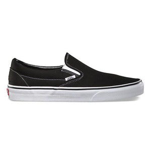 VANS - SLIP-ON (BLACK/WHITE)