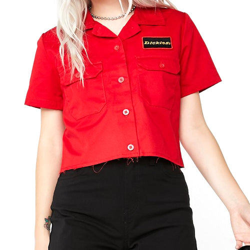 DICKIES - CROP WORKSHIRT