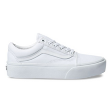 VANS - OLD SKOOL PLATFORM (TRUE WHITE)