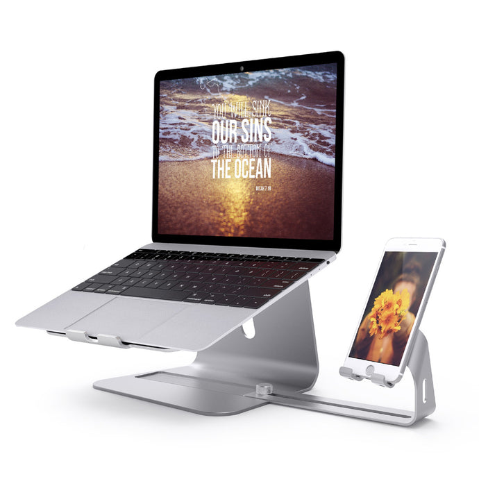All-in-One Laptop and Phone Stand
