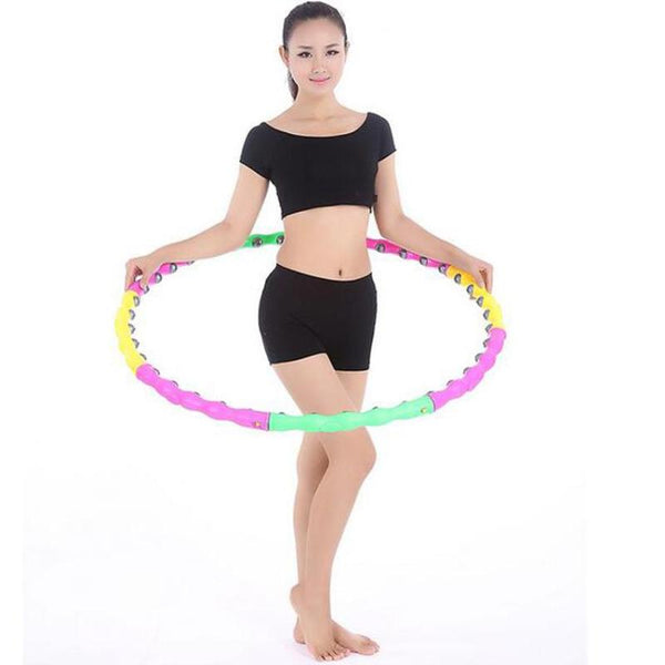 Fitness Exercise Magnetic Massage Hula Hop