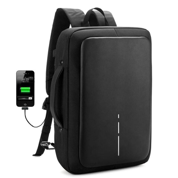 Anti Theft USB Business Backpack - Go Bizz