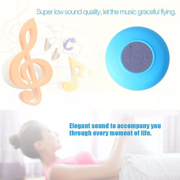 Mini Bluetooth Portable Waterproof Speaker