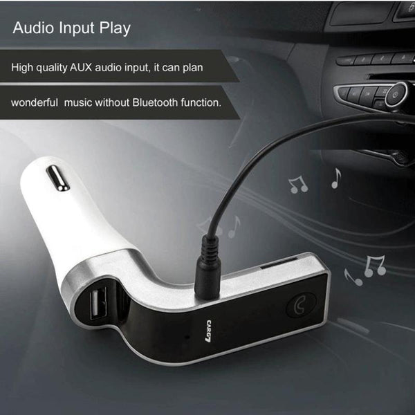 4 in 1 Car Stereo Wireless Bluetooth Charger FM Transmitter