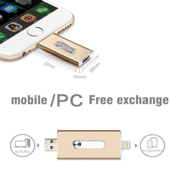 iFlash USB Drive HD for iOS and Android Phones