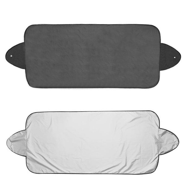 Premium Front Rear Windscreen Protection - Windshield Visor Cover Sun & Snow