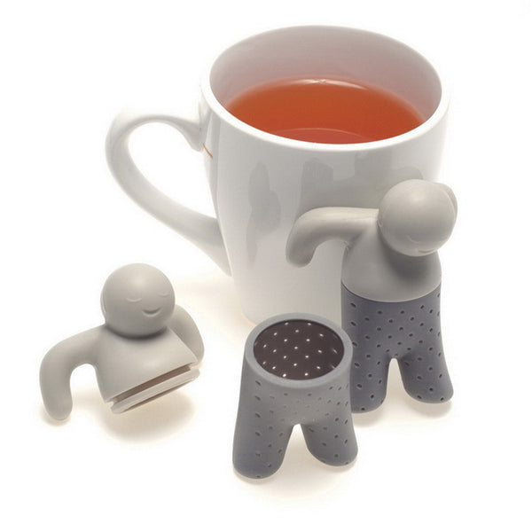 Teapot Dude Cute Silicone Tea Infuser