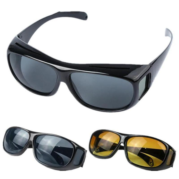 Polarite HD Original Day & Night Sunglasses Reading glasses compatible Full Cover