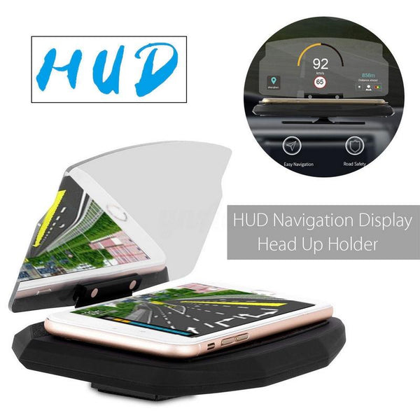 HUD Head Up GPS Navigation Display Bracket Holder - Mobile Phone Projector