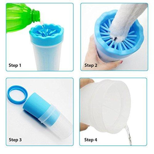Portable Pet Paw Cleaner