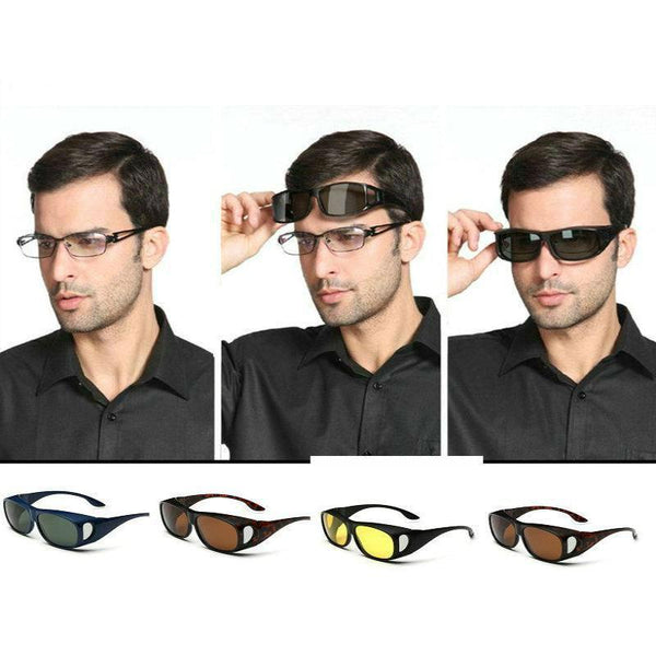 Polarite HD - Original Day & Night Sunglasses - Reading glasses compatible