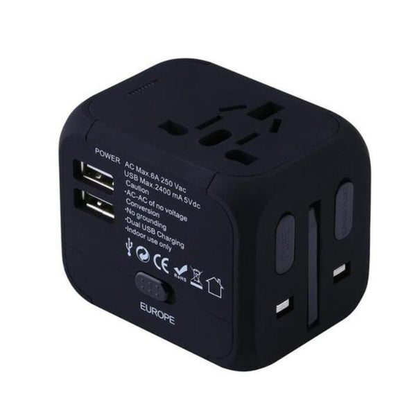 Universal Travel USB Power Adapter
