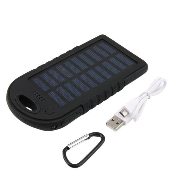 Smartphone Clip-On Solar Charger 5000mAh