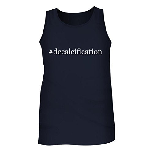 Tracy Gifts #decalcification - Men's Hashtag Adult Tank Top, Navy, Medium