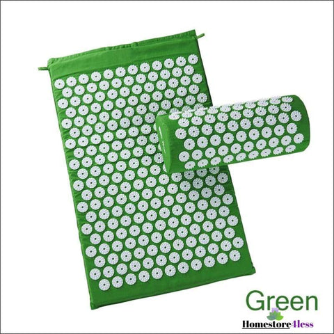 Image of Acupressure Mat And Pillow Set - Homestore4less