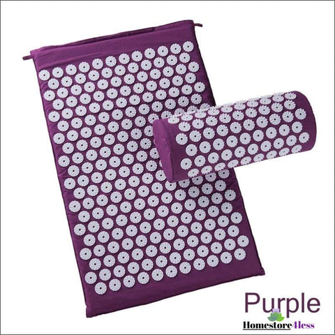 Acupressure Mat And Pillow Set - Homestore4less