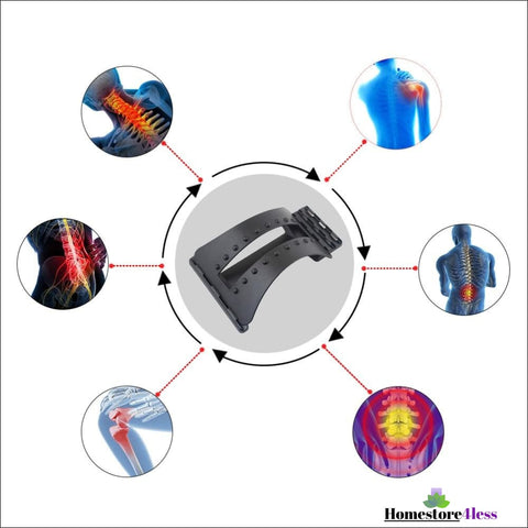 Image of Back Massage Stretcher Lumbar Extender