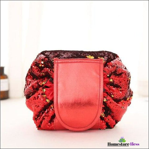 Beauty Sequin Drawstring Cosmetic Makeup Bag