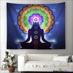 Chakra Mandala Wall Hanging Tapestry - Homestore4less