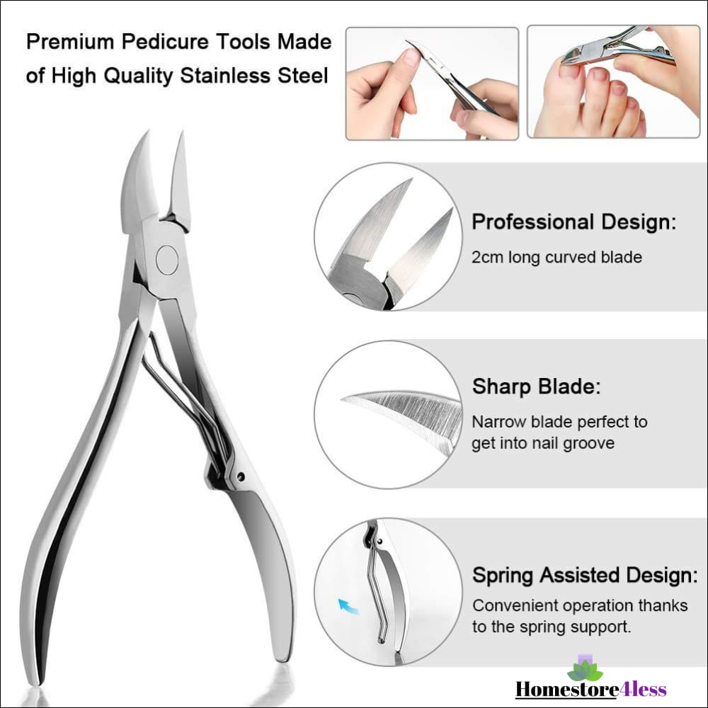 Complete Ingrown Toenail Tool Set 6pc
