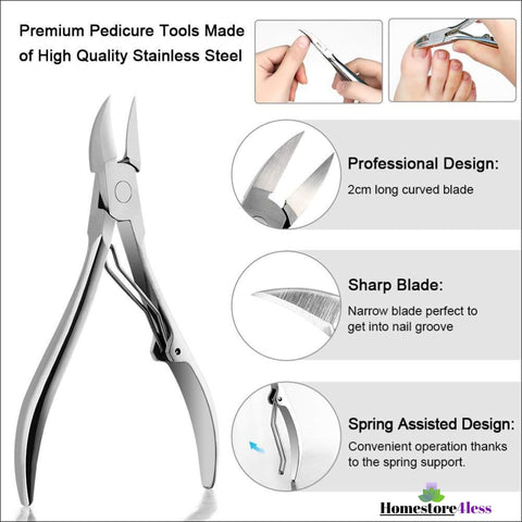 Image of Complete Ingrown Toenail Tool Set 6pc