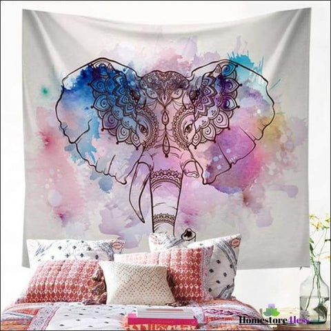 Mandala Elephant Wall Hanging Tapestry - Homestore4less