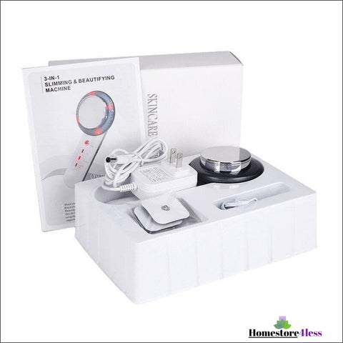 Ultrasonic 3 in 1 Cavitation Skincare Body Sculpture