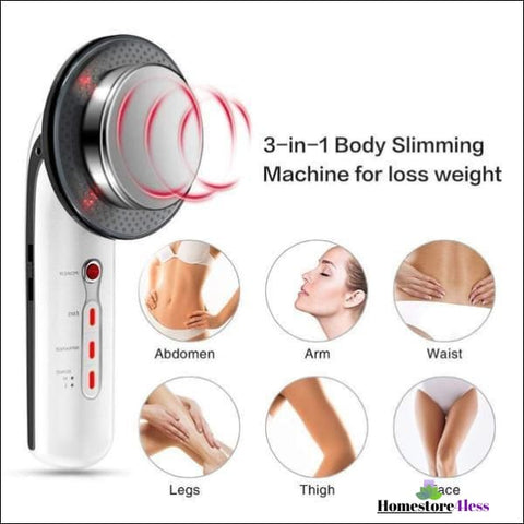 Image of Ultrasonic 3 in 1 Cavitation Skincare Body Sculpture