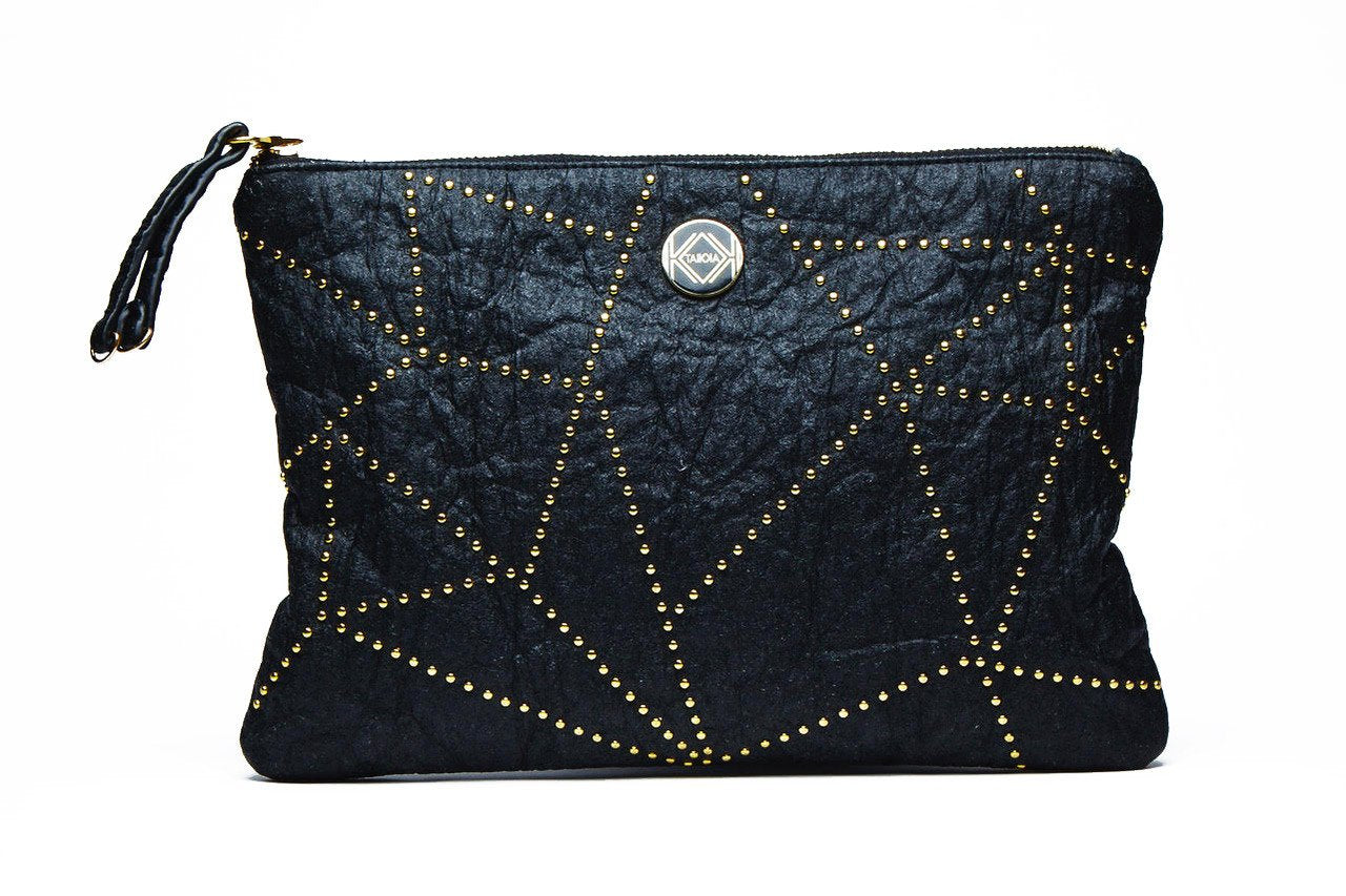ANANAS black clutch