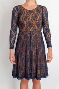 Vintage lace dress by Finnish fashion brand Ivana Helsinki, designed by Paola Suhonen, size XS