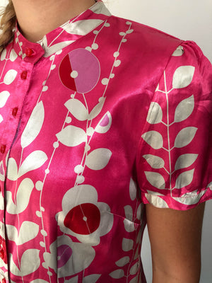 Pink vintage shirt by the Danish brand Cream