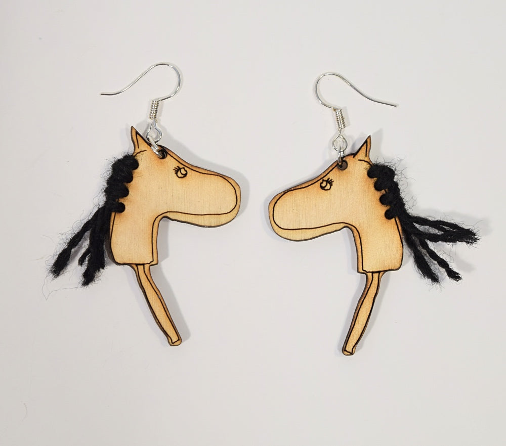 HOBBYHORSE earrings