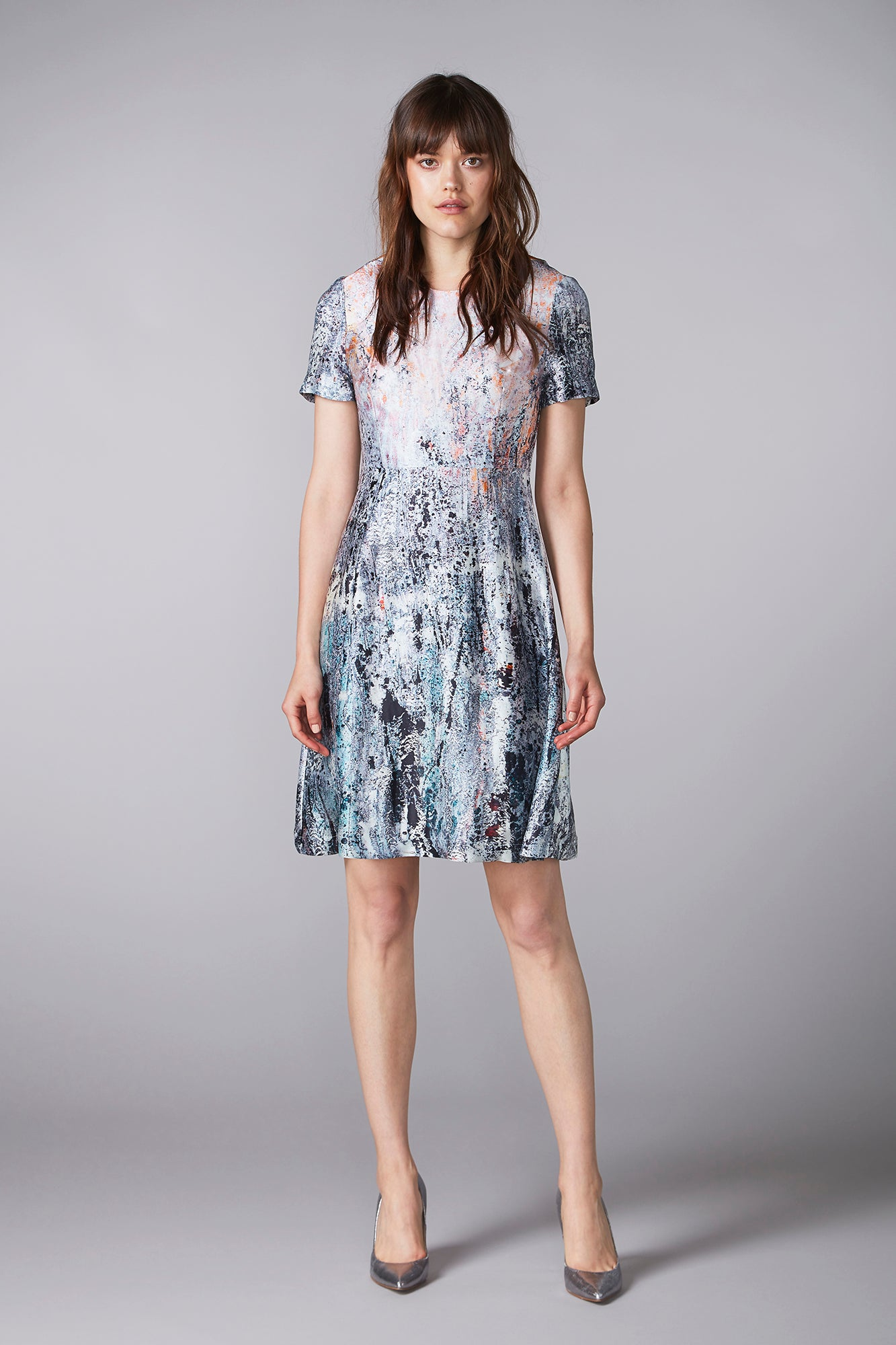 halo REIDAR short-sleeved dress