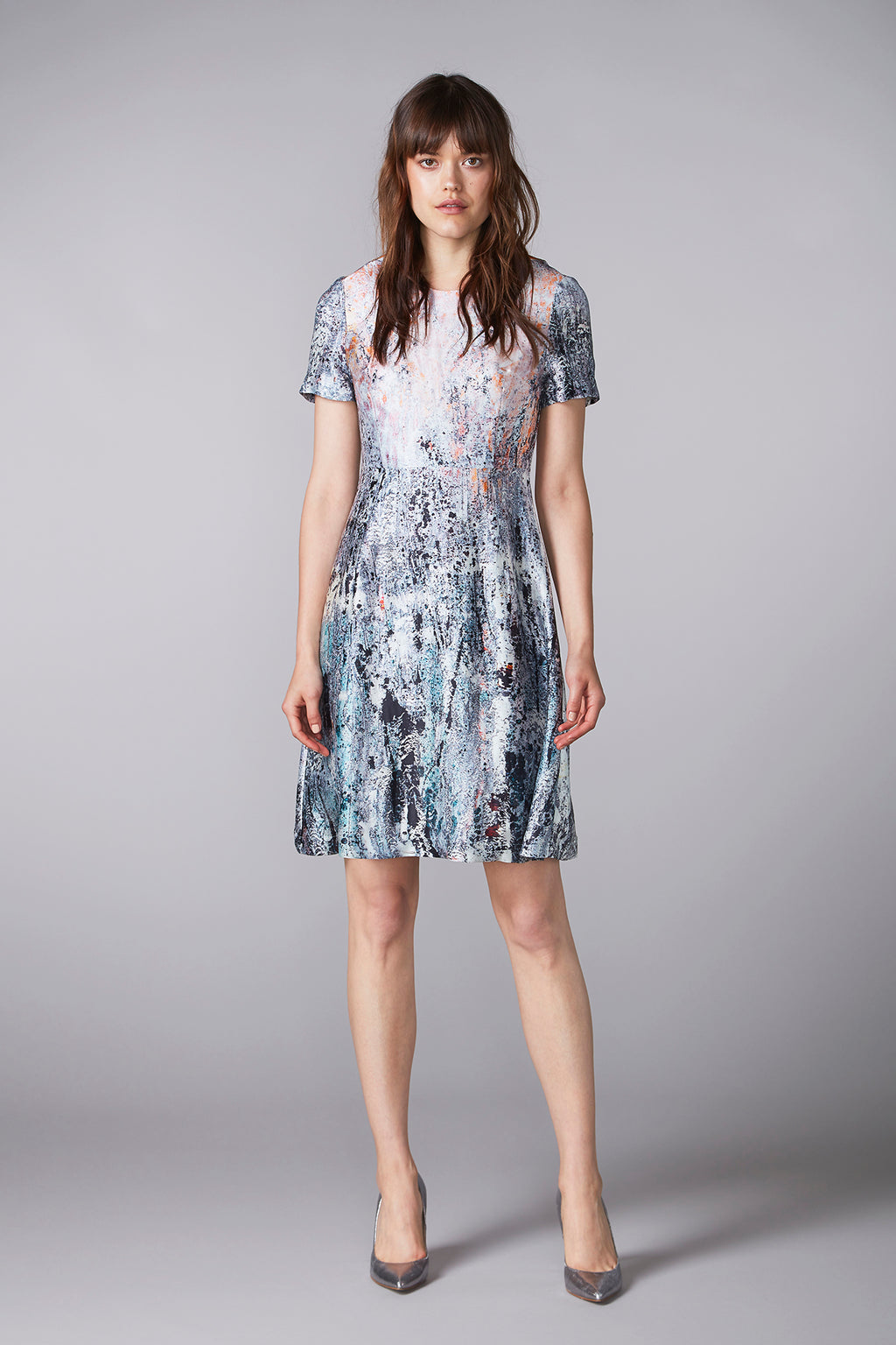 REIDAR short-sleeved dress