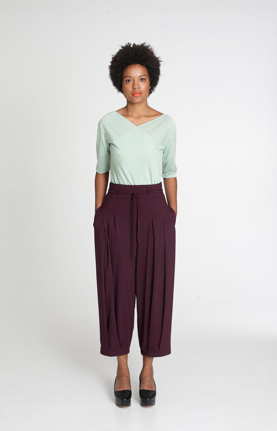 Tauko TEAR pants, Burgundy