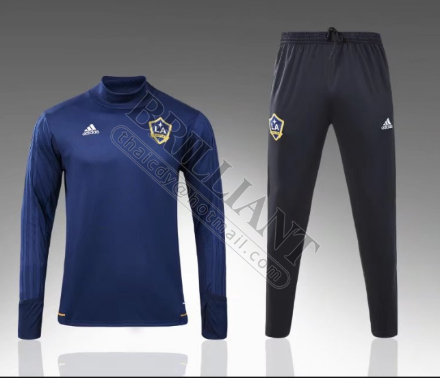 Ensemble de survêtement - LA Galaxy 2017/18 - Bleu navy
