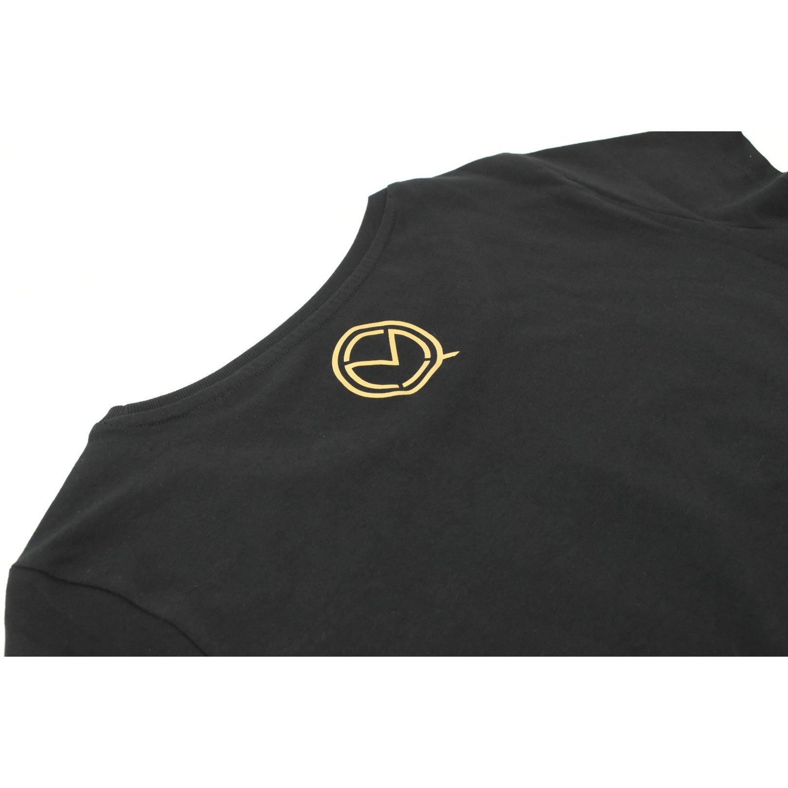 "The ""UNDISPUTED"" Men's Black T-shirt with Gold Box logo"