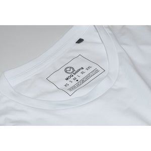 Ladies White 3D Logo Tee